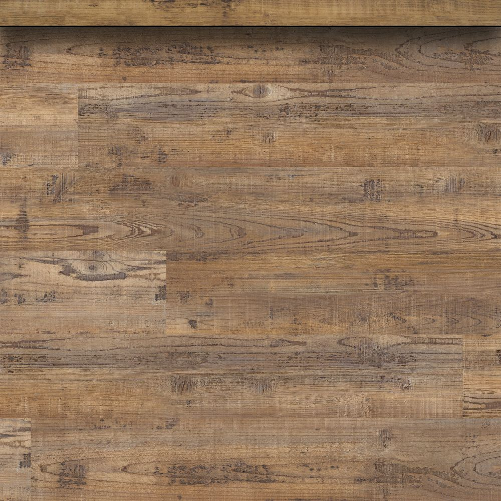 Aged Hickory 2-3/4X94 Vinyl Overlapping Stair Nose