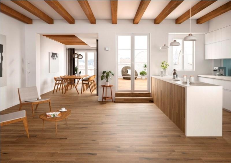 Antoni Cafe 6X36 Matte Wood Look Porcelain Tile