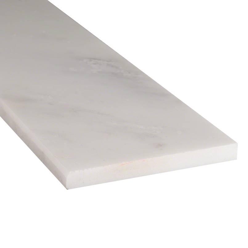 Arabescato Carrara 6X37 Polished Single Beveled Threshold