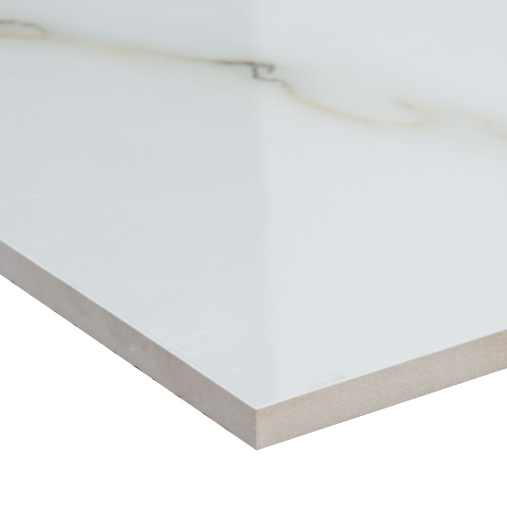 Aria Bianco 24X24 Polished Porcelain Tile