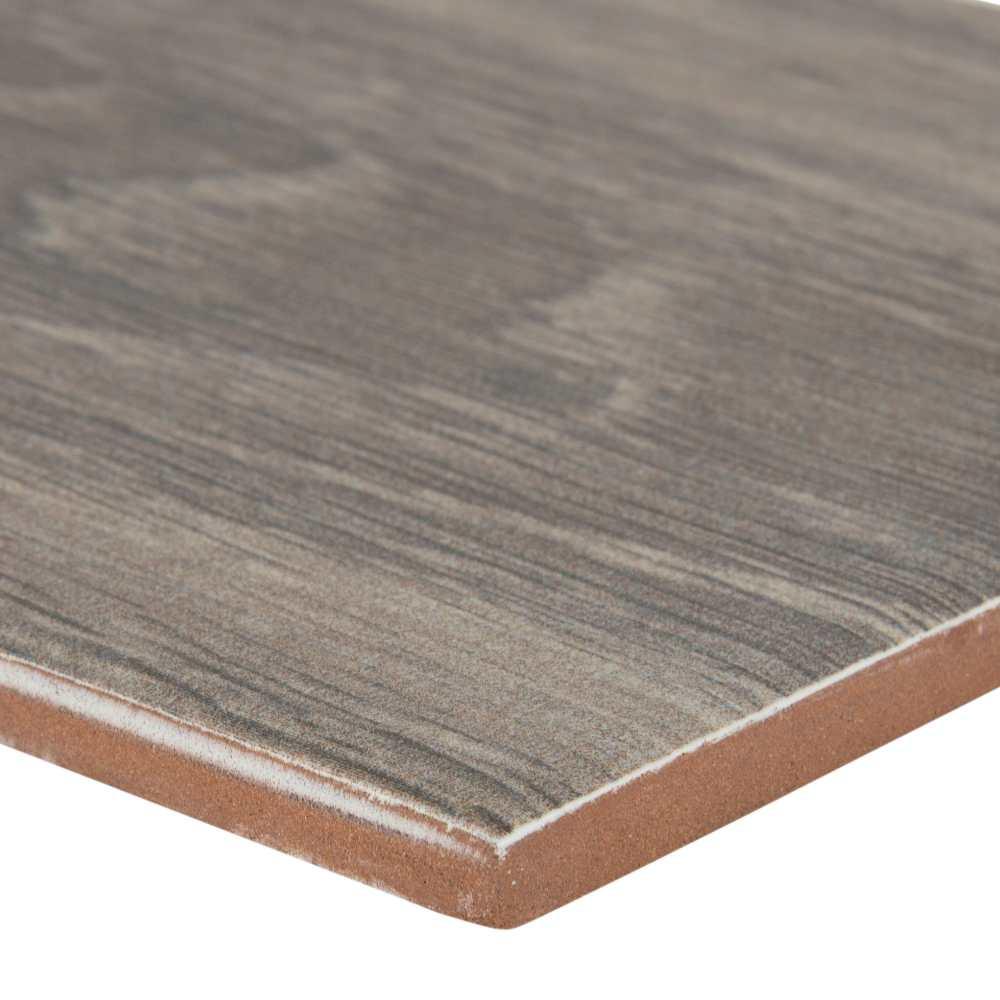 Balboa Grey 6X24 Matte Wood Look Ceramic Tile