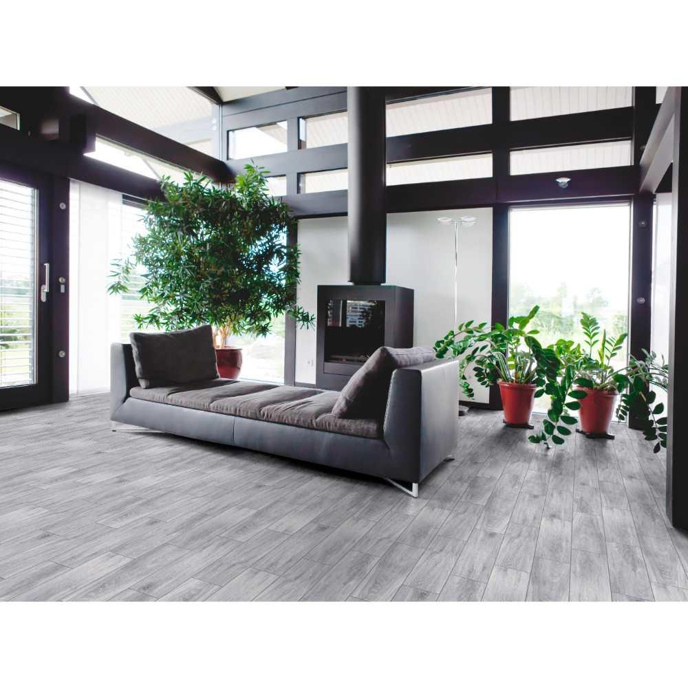 Balboa Ice 6X24 Matte Wood Look Ceramic Tile