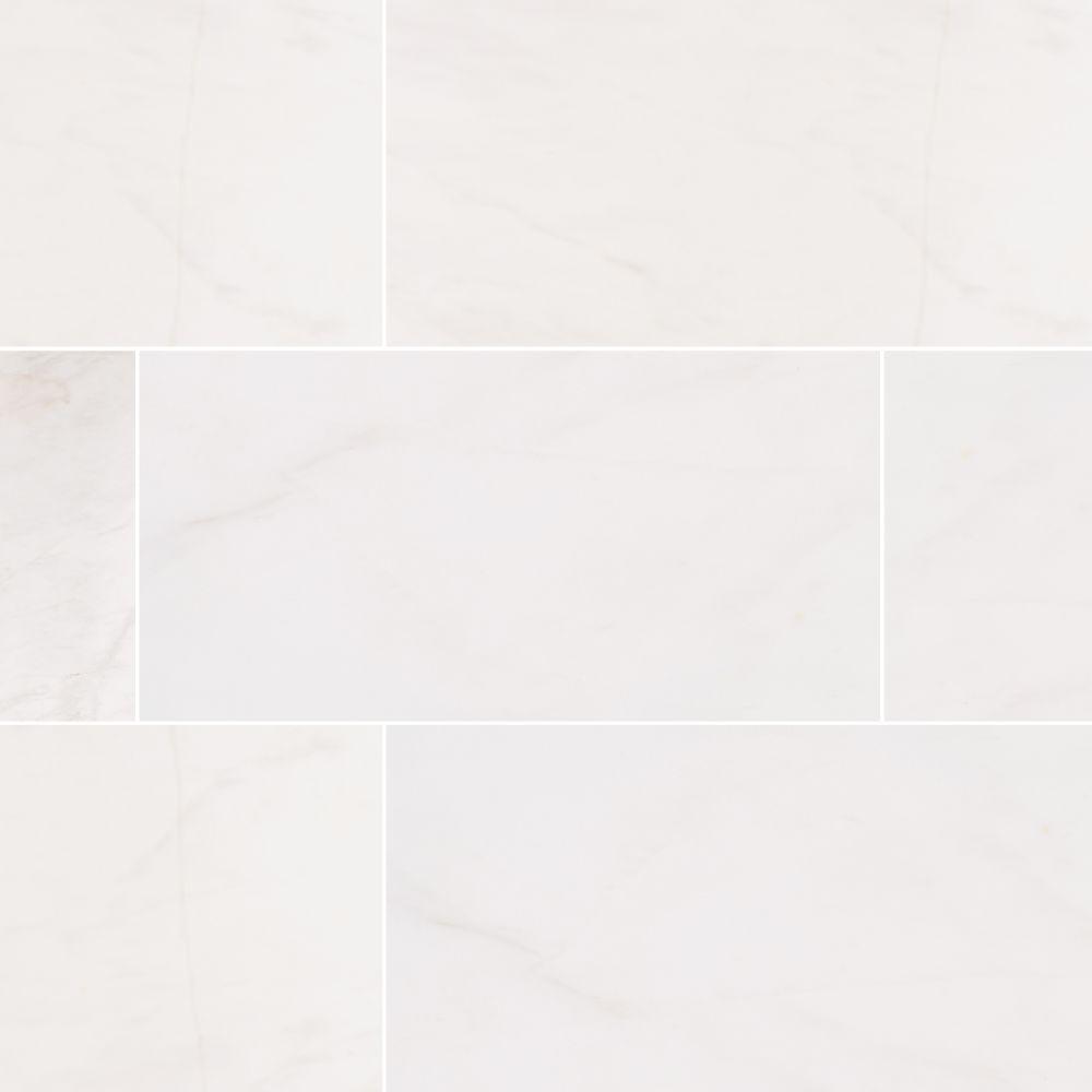 Bianco Dolomite 12X24 Polished Marble Tile