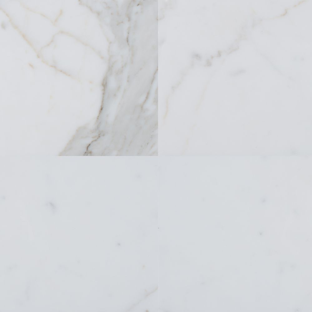 Calacatta Gold 12X24 Polished Marble Tile