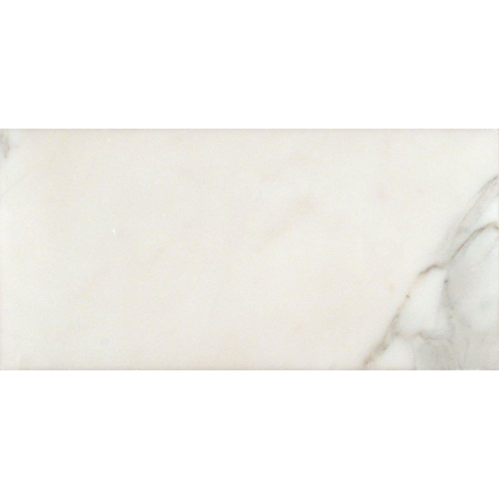 Calacatta Gold 6x12 Polished Marble Tile