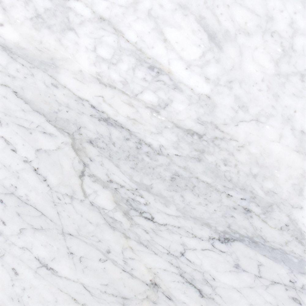 Carrara White (C) 12X12 Polished