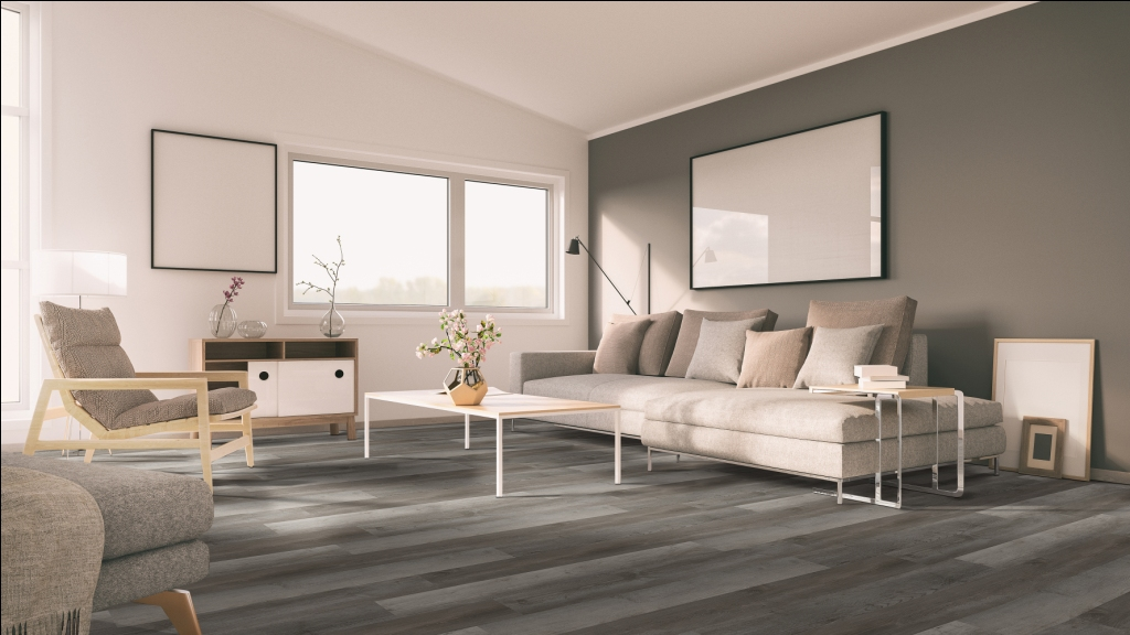 Centennial Weathered Oyster 6X48 Luxury Vinyl Plank Flooring