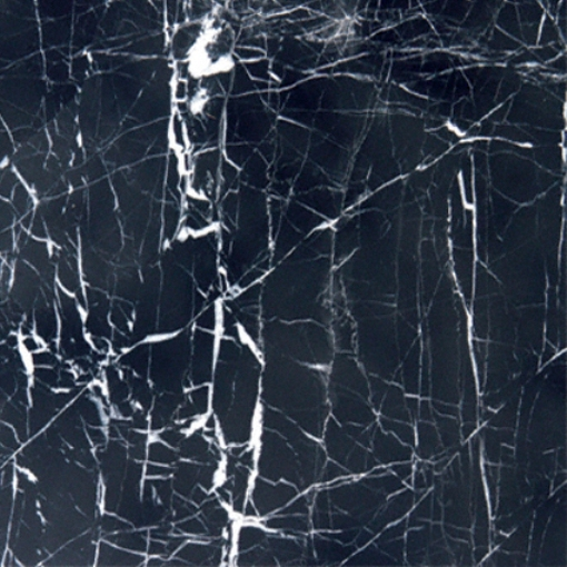 Nero Marquina 18X18 Marble Floor and Wall Tile