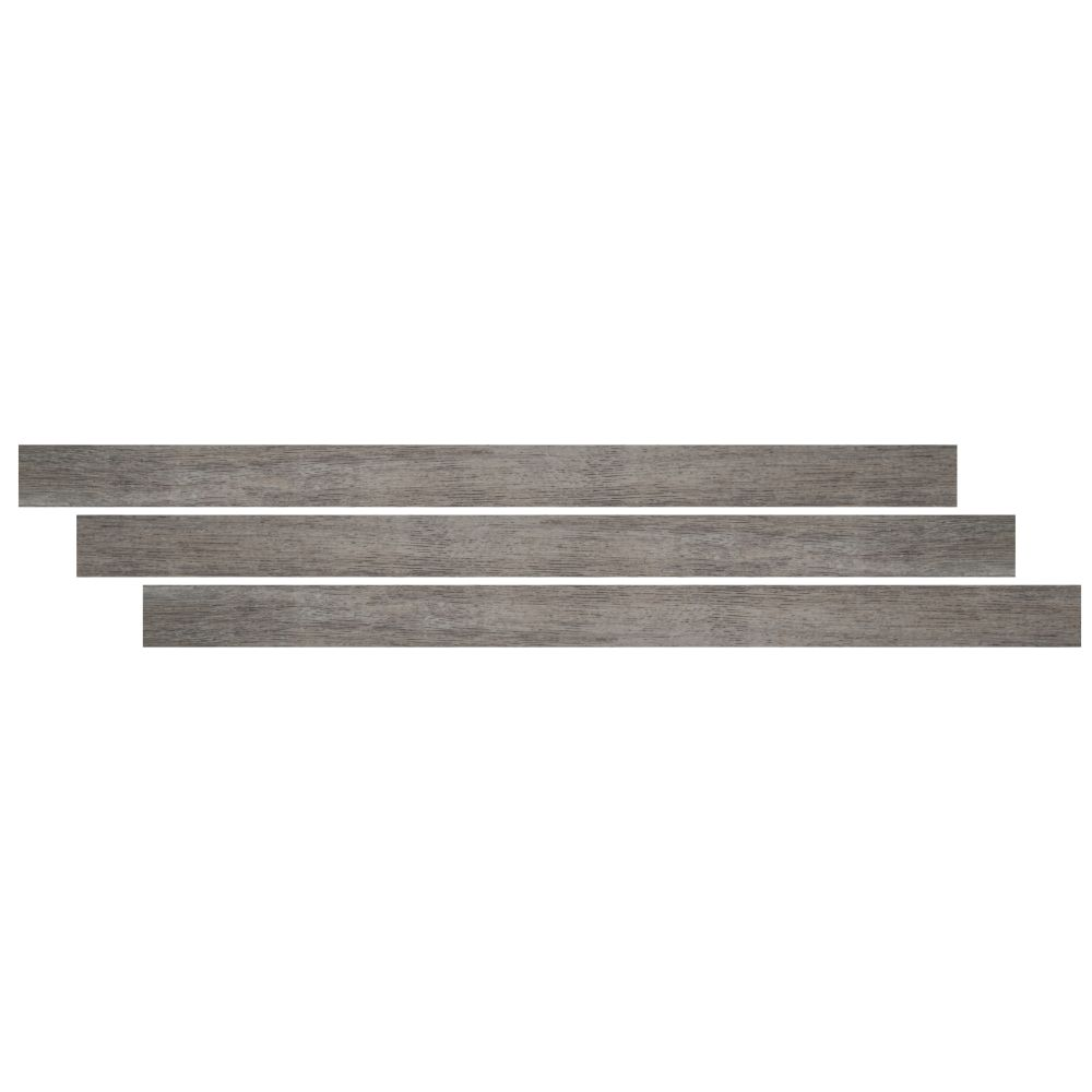 Coastal Mix / Mezcla 1-3/4X94 Vinyl Overlapping Stair Nose
