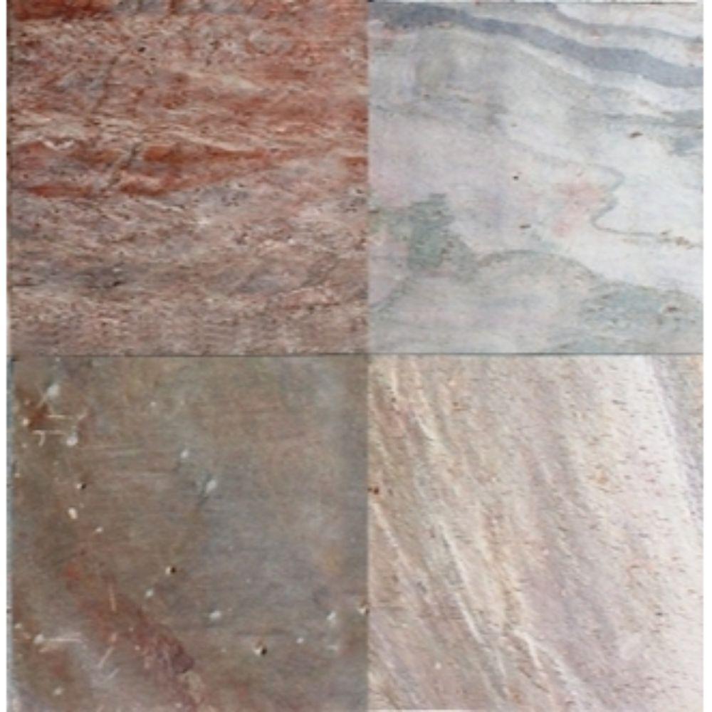 Copper 16X16 Honed Quartzite Tile