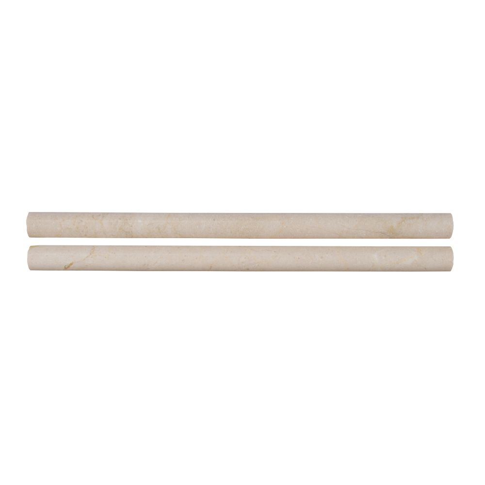 Crema Marfil Pencil 3/4x12 Polished