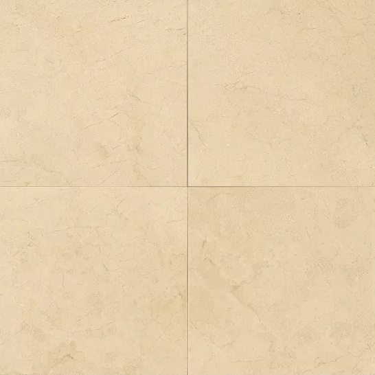Crema Marfil Select 24X24 Honed Marble Tile