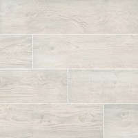 Caldera Blanca 8x47 Wood Look Rectified Matte Porcelain Tile