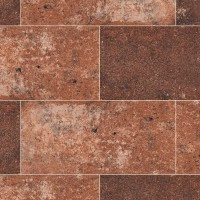 Capella Red 5X10 Brick Pattern Matte Porcelain Tile