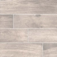 Cottage Smoke 8x48 Matte Wood Look Porcelain Tile