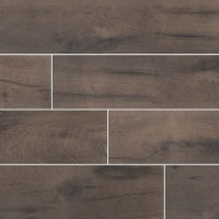 Cottage Wenge 8x48 Matte Wood Look Porcelain Tile