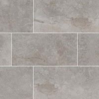 Essentials Ansello Grey Bullnose 3X18 Matte Ceramic Tile