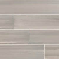 Watercolor Grigio 6x36 Matte Porcelain Tile