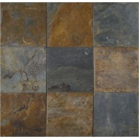 California Gold Classic 12x12 Gauged Slate Tile