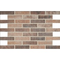 MSI Capella Red 2X10 Brick Pattern Matte Porcelain Tile