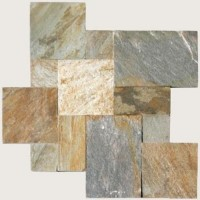 Golden White 16 Sft Per Kit Gauged Quartzite Tile
