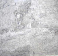 Gray Cloud 18x18 Brushed Marble Tile