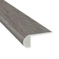 Katella Ash / Woodrift Gray 2-3/4X94 Vinyl Flush Stair Nose