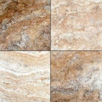 Philadelphia Travertine 12X12 Honed / Filled