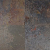 Rustic Gold Classic 12x12 Gauged Slate Tile