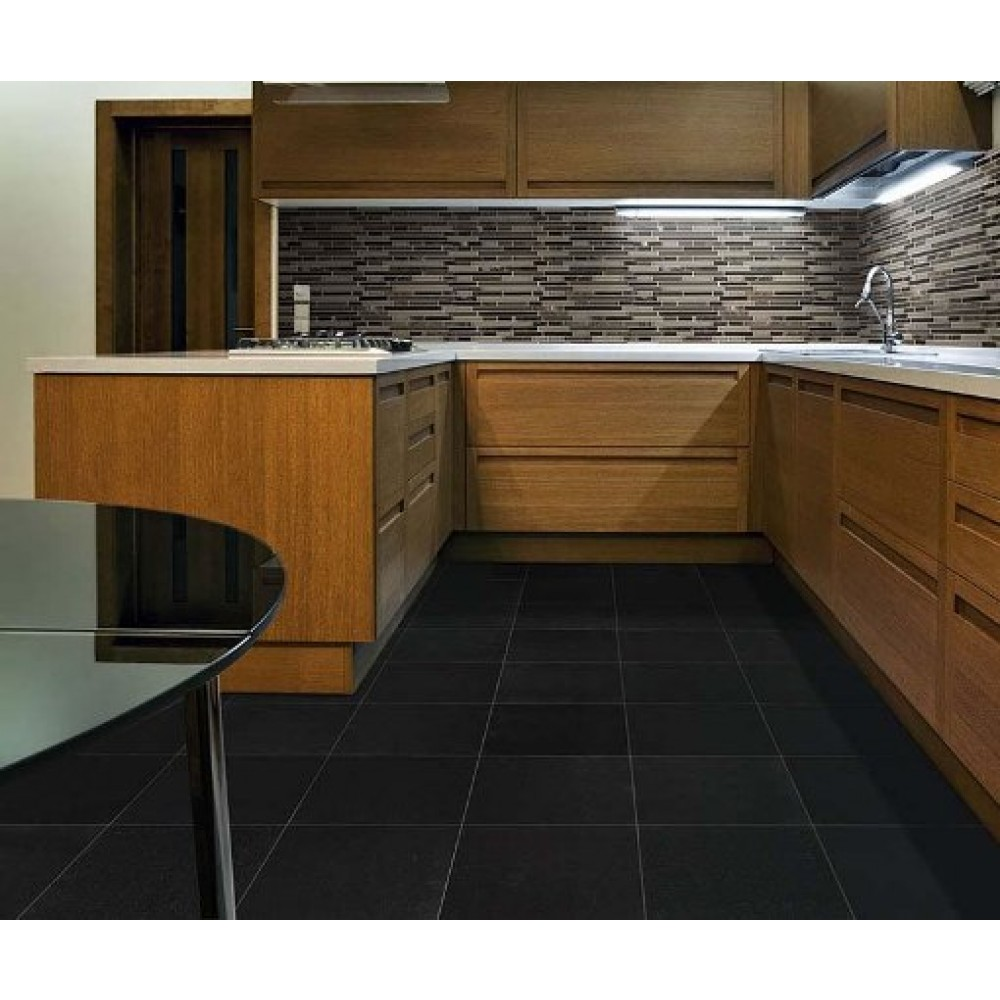 Absolute India Black 24X24 Polished