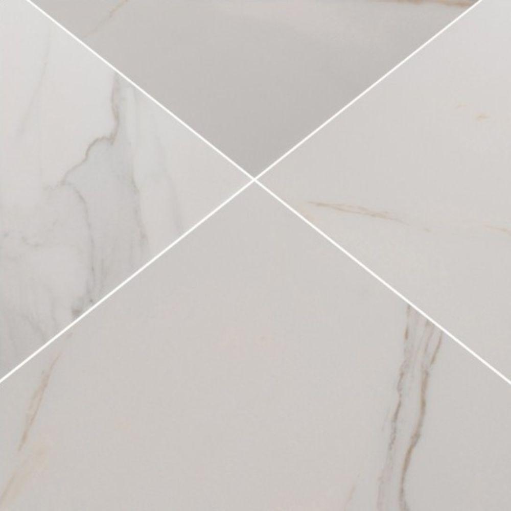 Adella Calacatta 18X18 Matte Porcelain Tile