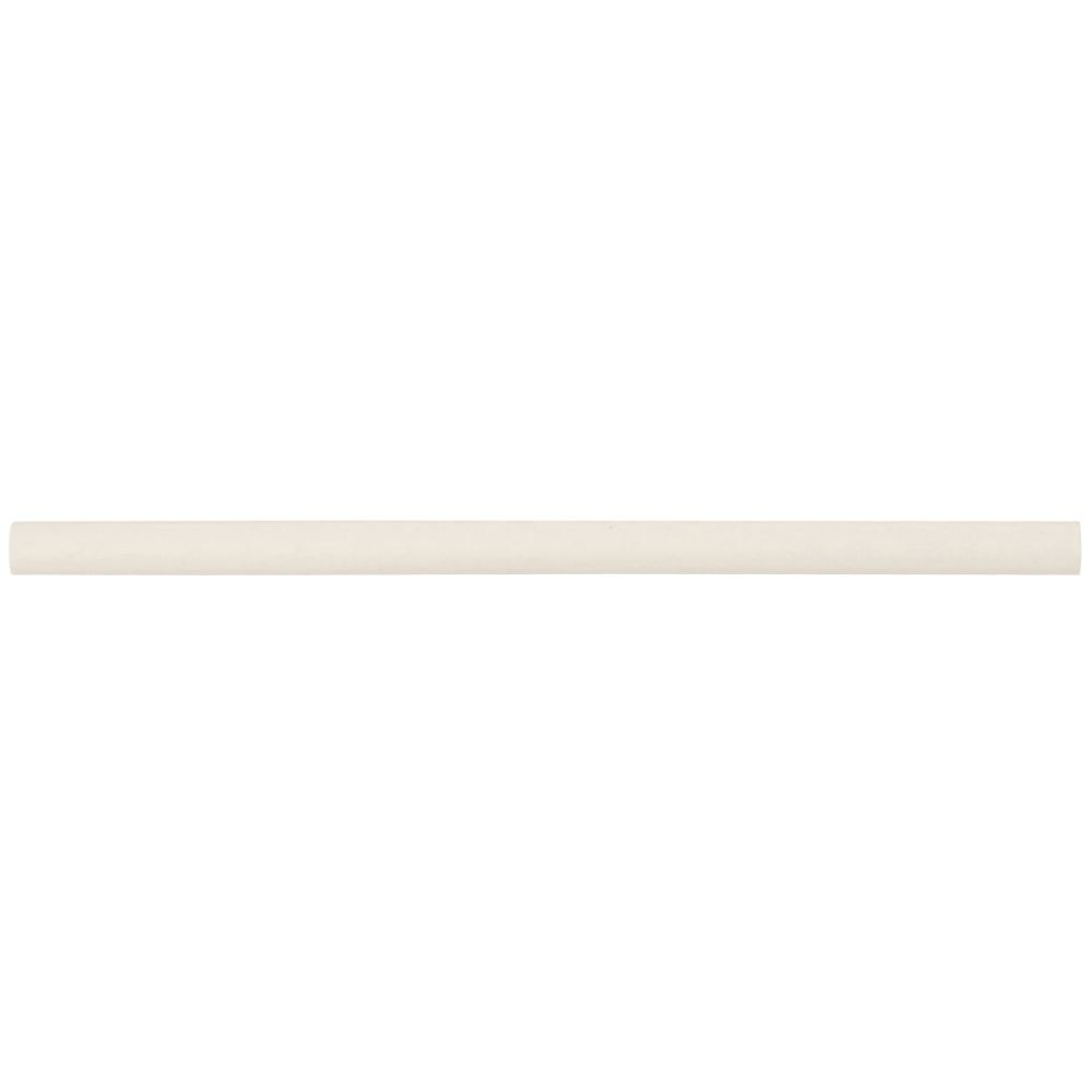 Almond Glossy 1/2x12 Pencil Ceramic Molding
