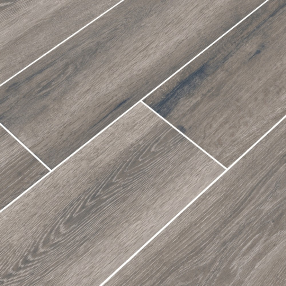 Antoni Gris 6X36 Matte Wood Look Porcelain Tile