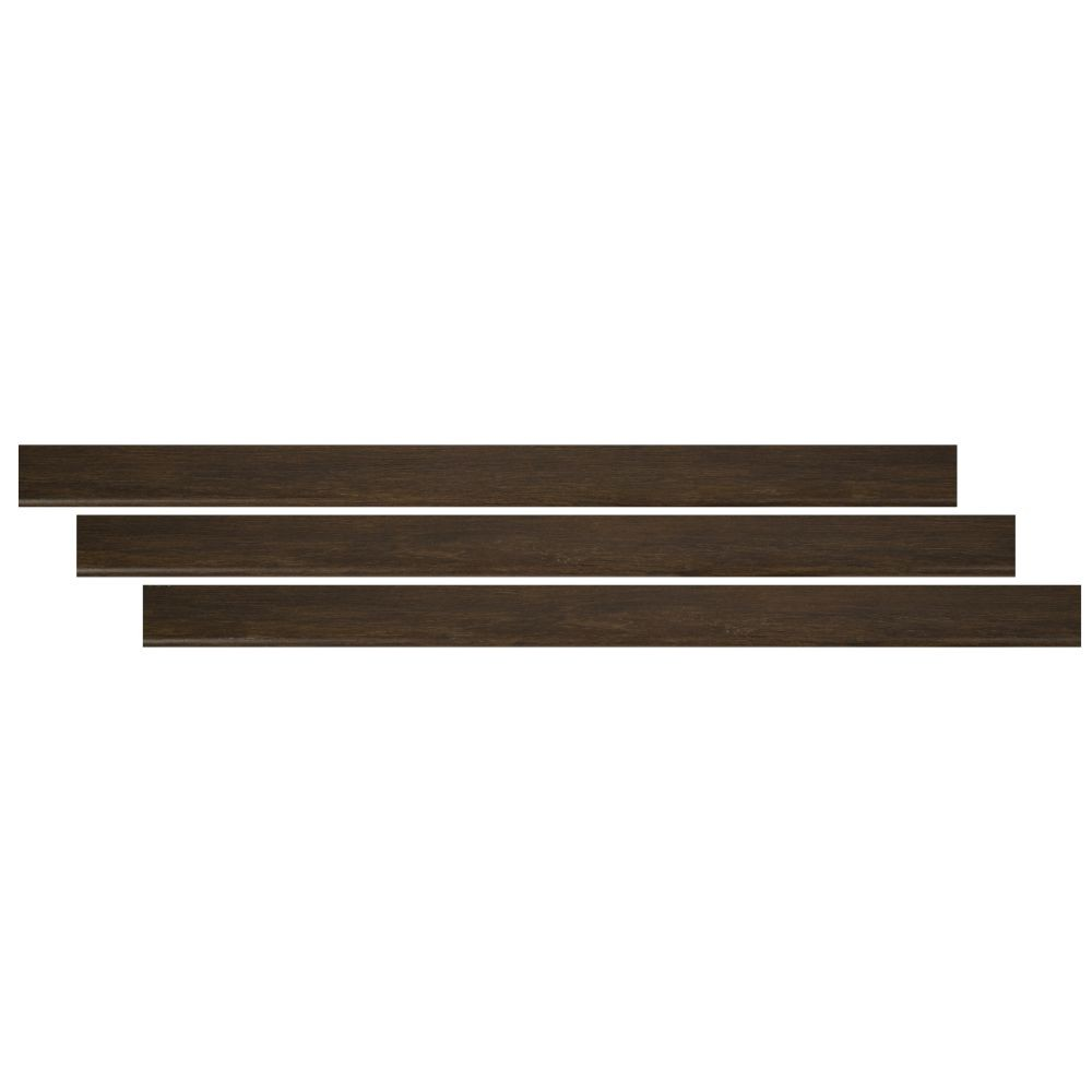 Barrell 2-3/4X94 Vinyl Flush Stair Nose