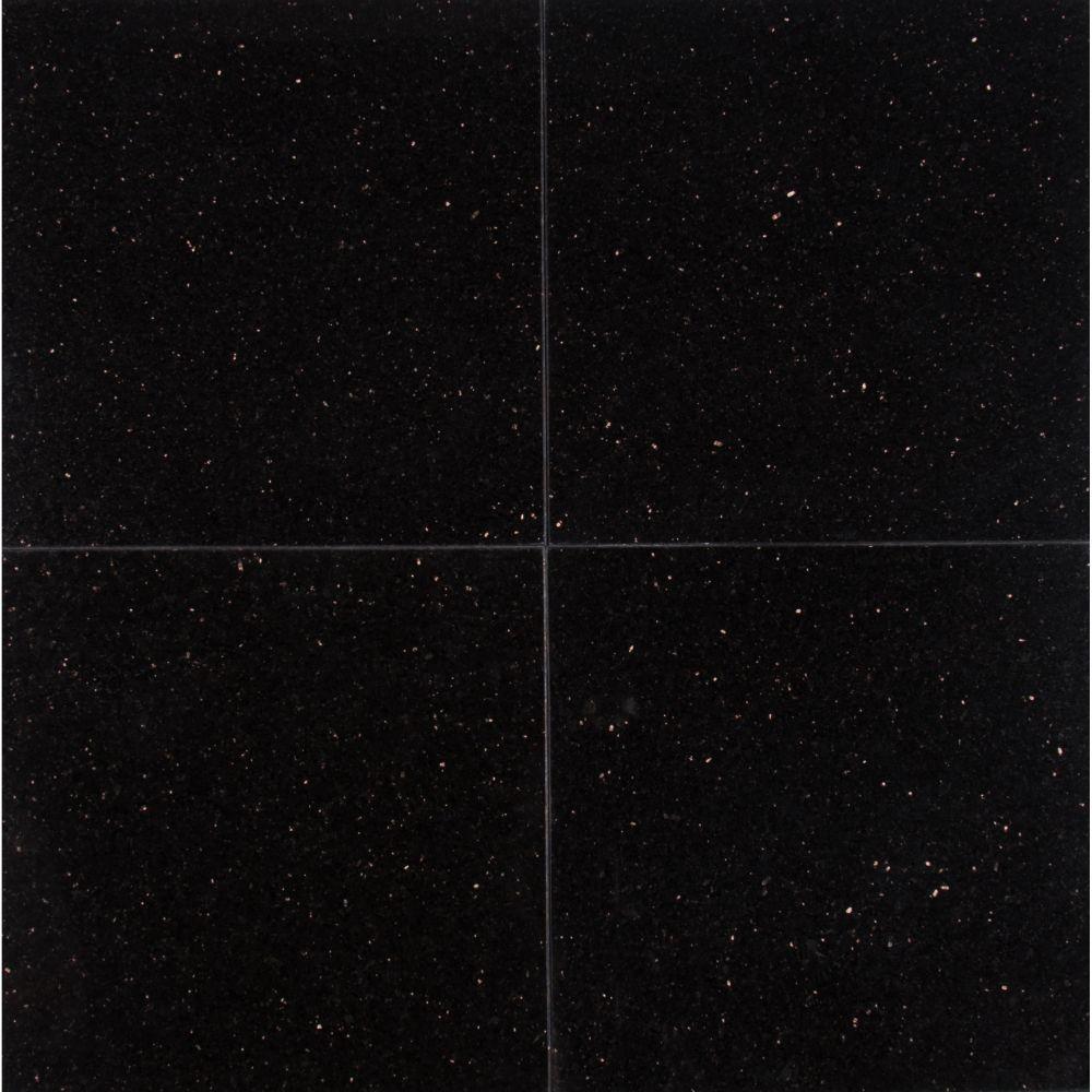 Black Galaxy 12X12 Polished