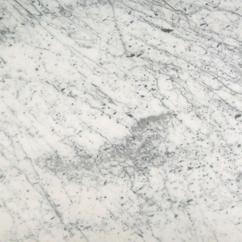 Carrara White (C) 18X18 Honed Marble Tile