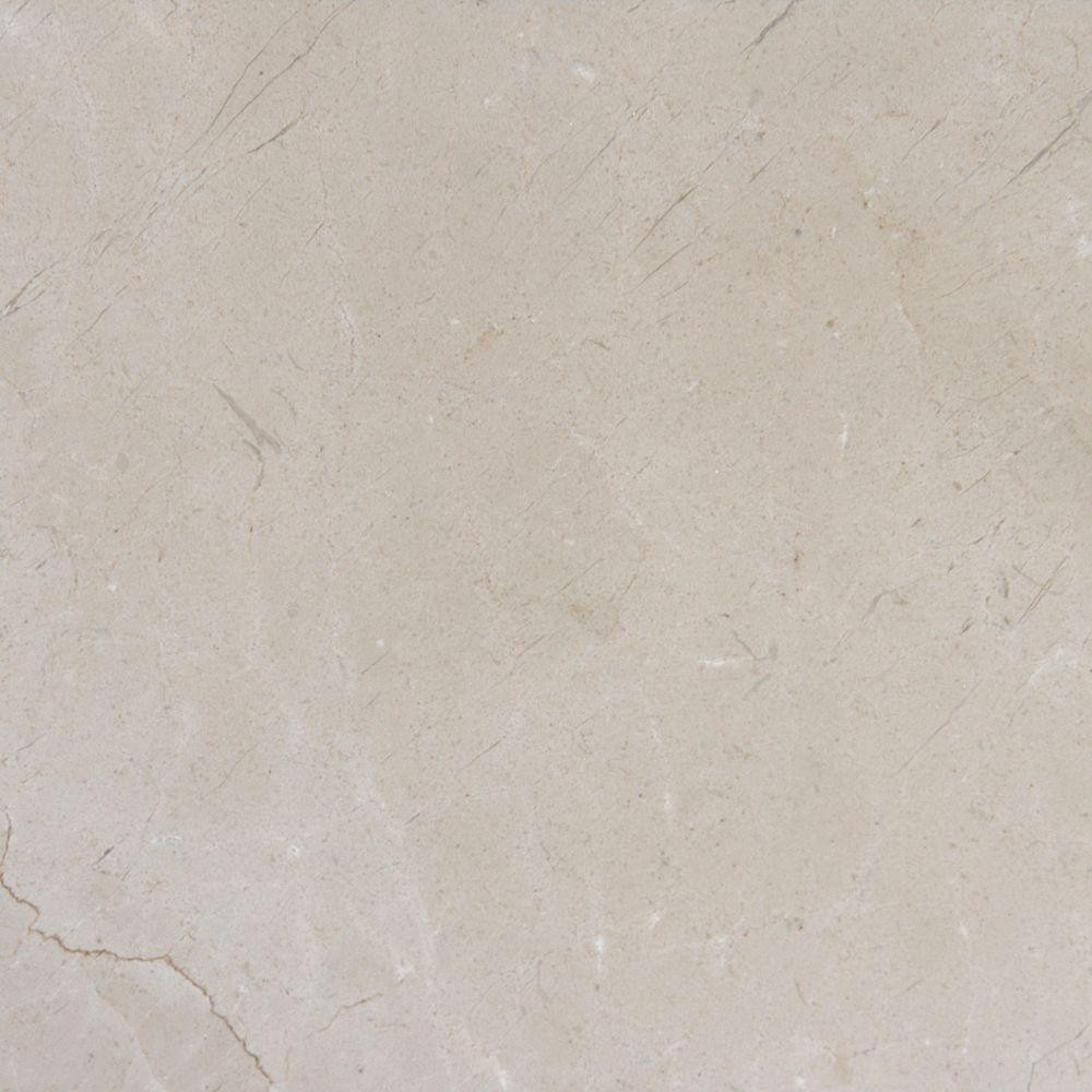 Cream Marfil 12x12 Polished Marble Tile