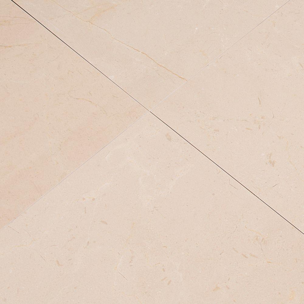Crema Marfil Premium 12X12 Polished