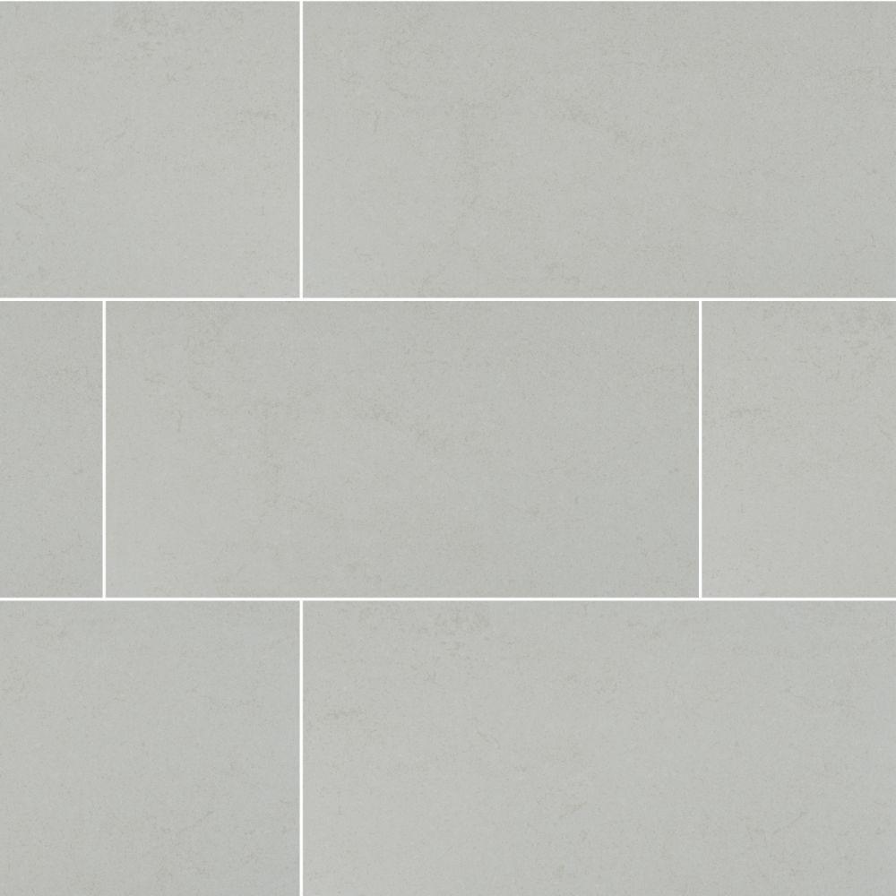 MSI Dimensions Glacier 12X24 Matte Porcelain Tile