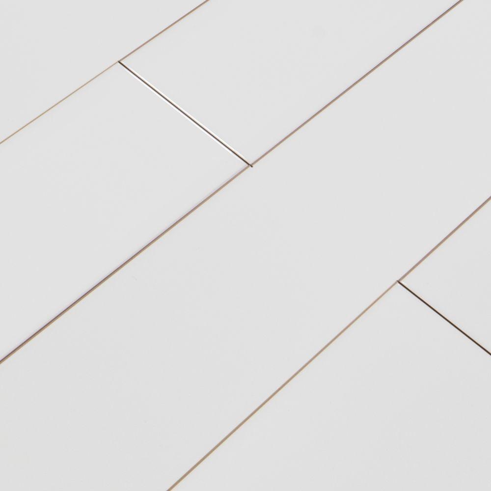 Domino White 4X16 Glossy Subway Tile