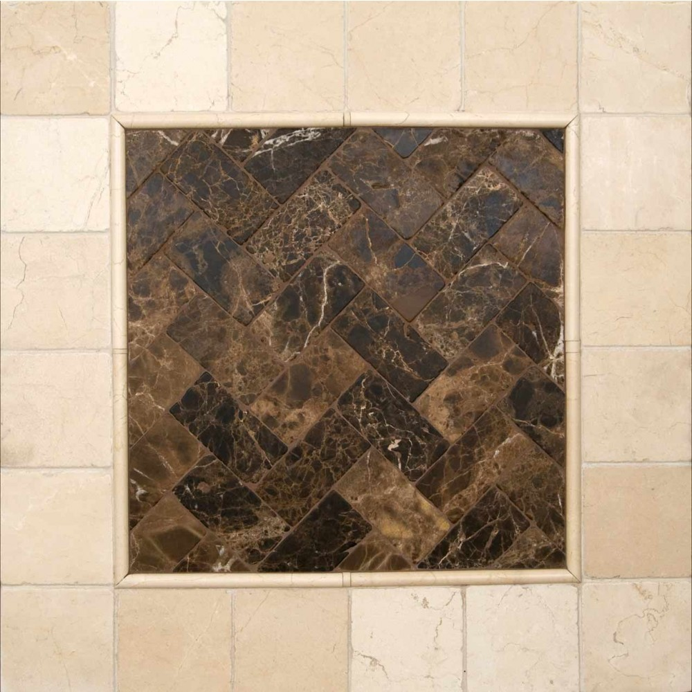 Emperador Dark 3X6 Tumbled