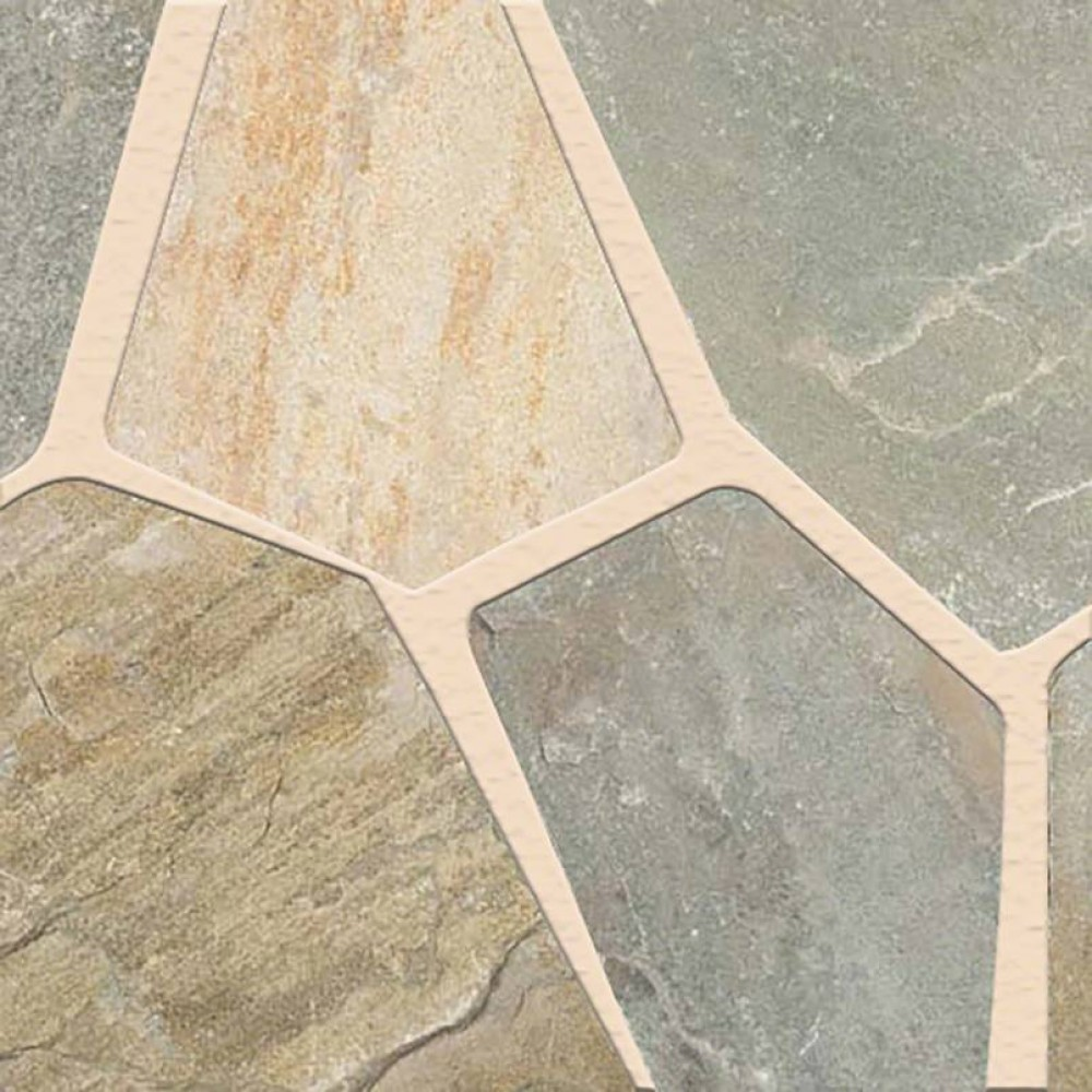 Golden White Hardscaping Natural Cut Flagstone