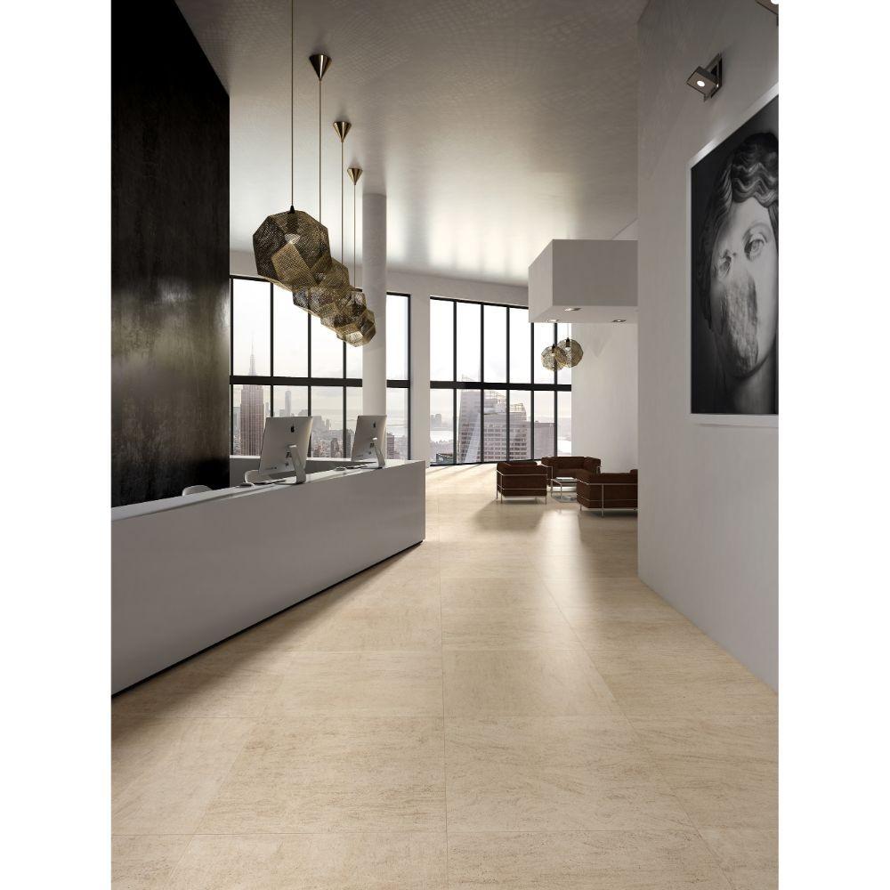 Livingstyle Beige 24X24 Matte Porcelain Tile