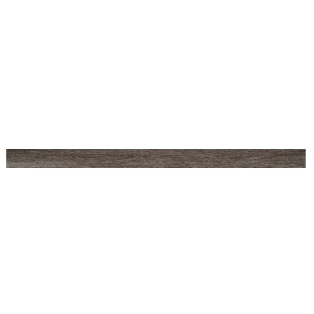 Ludlow / Charcoal Oak 1-3/4X94 Vinyl Overlapping Stair Nose