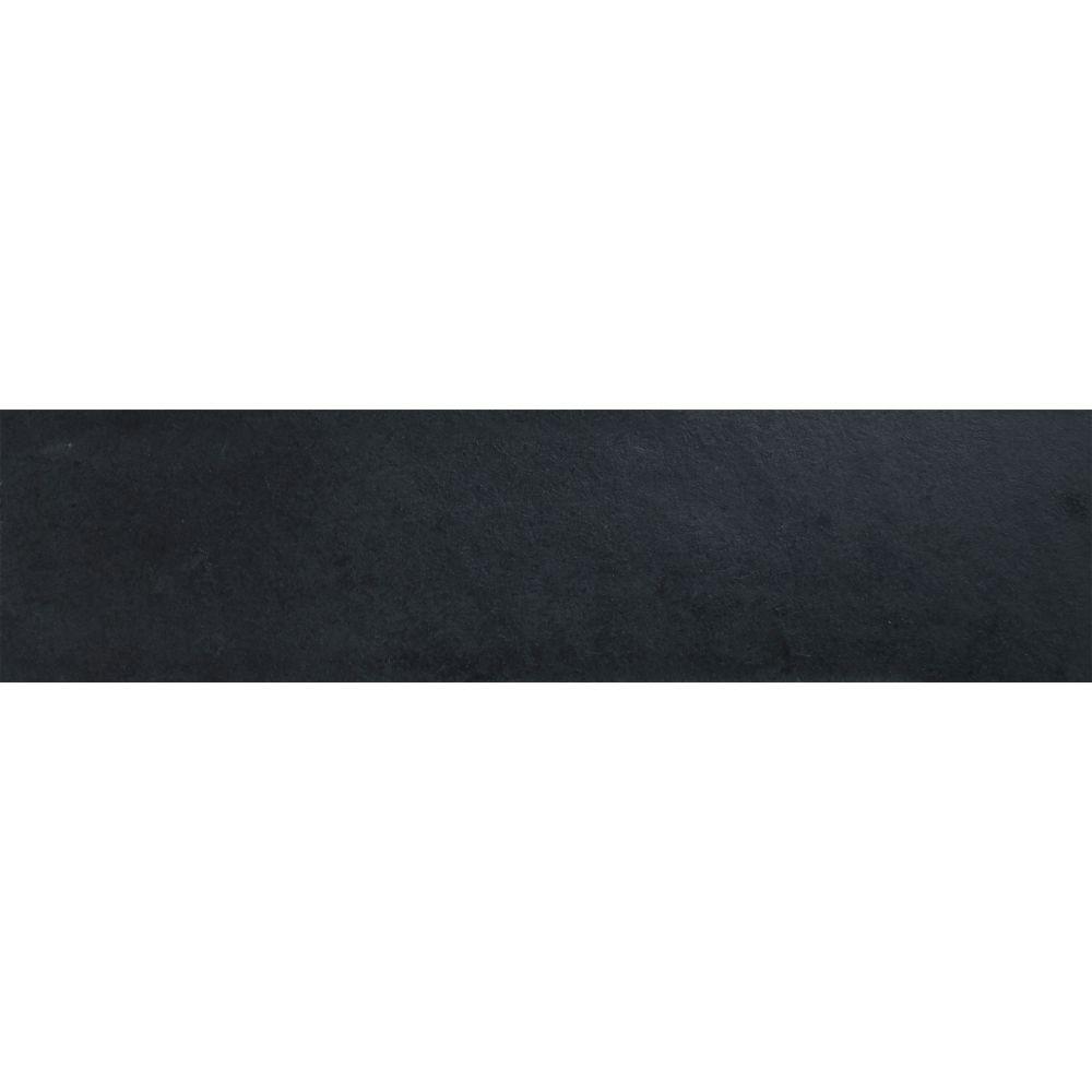 MSI Montauk Black 6X24 Gauged Slate Tile