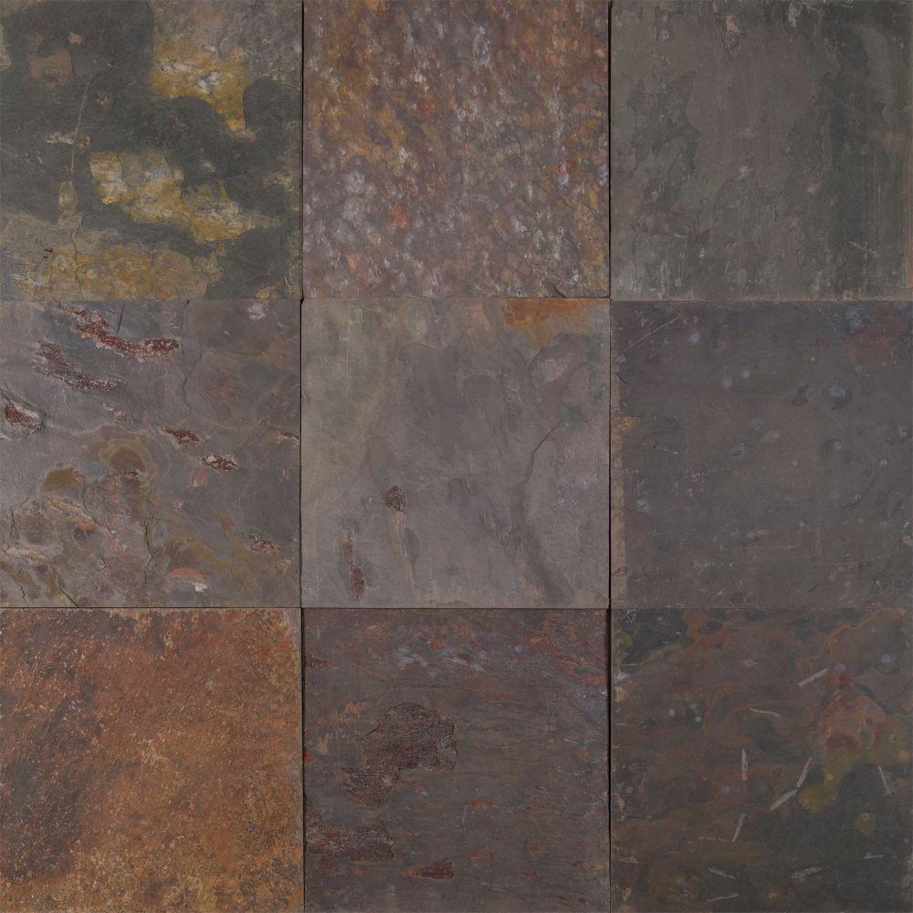 Multi Classic 16X16 Gauged Slate Tile