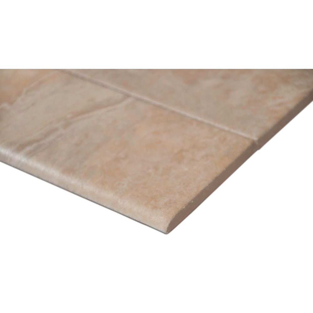 Onyx Sand 3x18 Matte Bullnose Tile