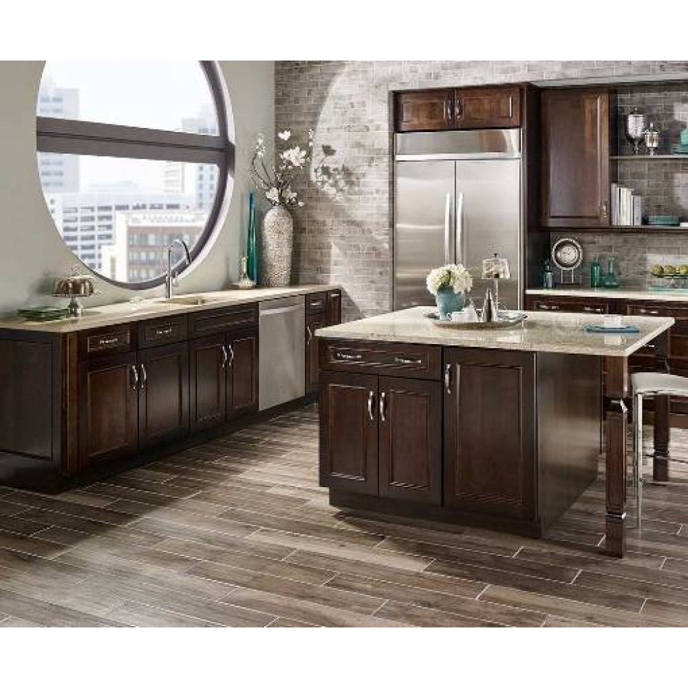MSI Palmetto Smoke 6X36 Matte Porcelain Tile