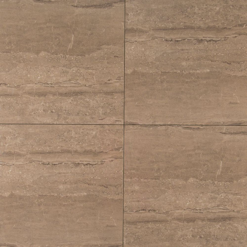 MSI Pietra Dunes 18X18 Polished Porcelain Tile