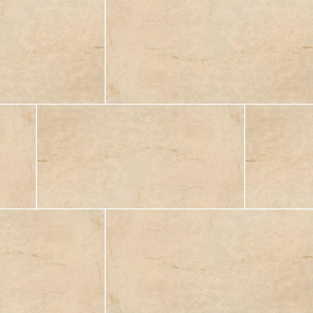MSI Pietra Ivory 16X32 Polished Porcelain Tile